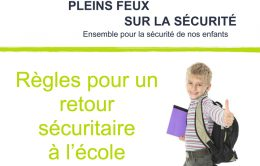 Pleins Feux Sur La Securite Volume